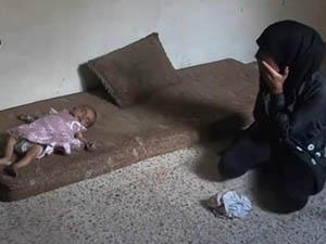 Guta'daki Açlık Nedeniyle Bir Bebek Daha Öldü (VİDEO)
