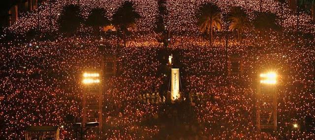 Tiananmen'e Hong Kong'da Anma; Çin'de Karartma