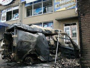 Ukrayna Ayrılıkçıların Kontrolündeki Hedefleri Vurdu