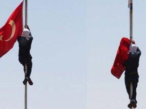 Bayrak İndirmeye 13 Yıl 9 Ay Hapis Cezası