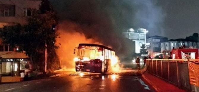 Otobüs Yakanlar Yakalandı