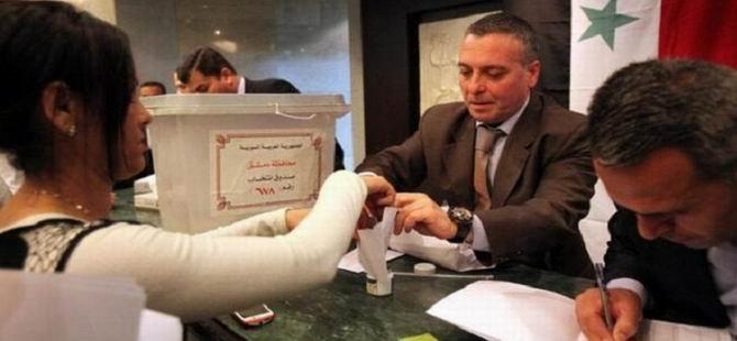 Suriye Rejiminin Seçimlere Yüksek Katılım Övüncü!