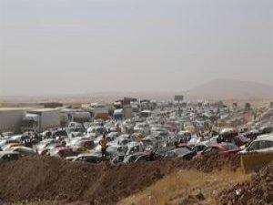 Yarım Milyon Kişi Musul'u Terk Etti