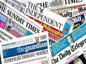 12 Haziran İngiltere Basın Özeti