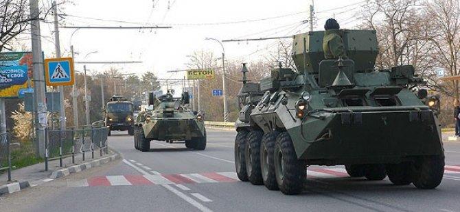Rus Tanklarının Ukrayna'ya Girdiği İddia Edildi!