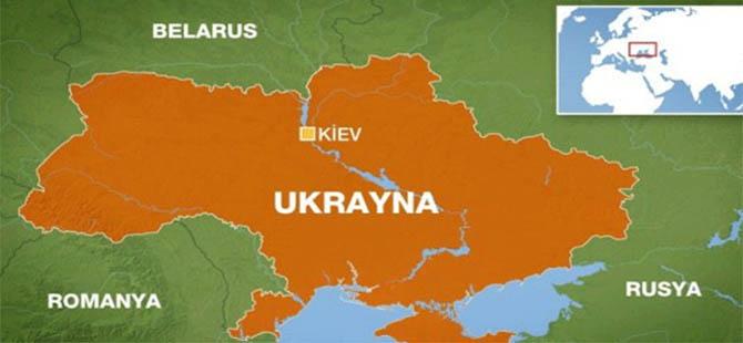 Ukrayna'da Askeri Kargo Uçağı Düşürüldü: 49 Ölü