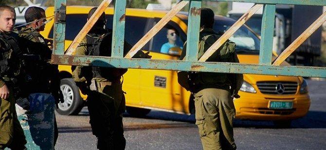 Siyonistler Halil Kentini Güvenlik Kordonu Altına Aldı