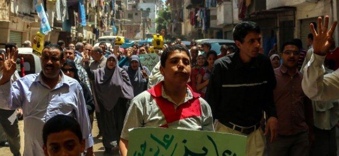 Mısır'da Sisi Protestosu