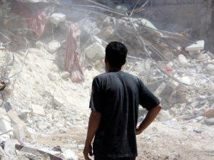 Suriye'de Varil Bombalı Saldırı: 36 Kişi Öldü (VİDEO)
