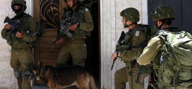 Batı Şeria'da 41 Filistinli Gözaltına Alındı