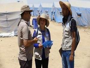 Suriyeli Mültecilerden Musullu Mültecilere Yardım