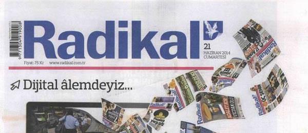 Radikal'in Gazetesinden Sonra, Sitesi de Kapanıyor!