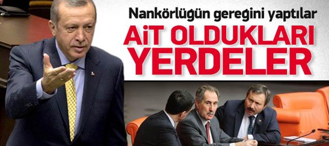 Erdoğan: Nankörlüklerinin Gereğini Yaptılar!