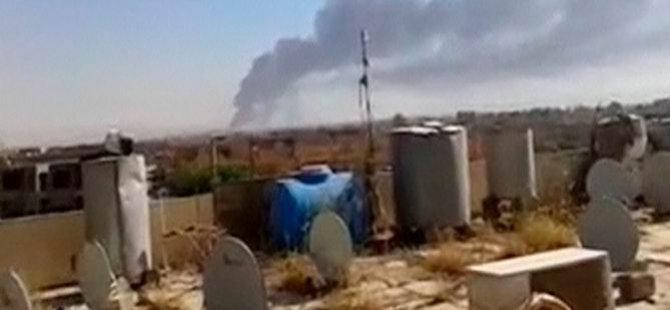 Irak Ordusu Beyci'yi Vuruyor