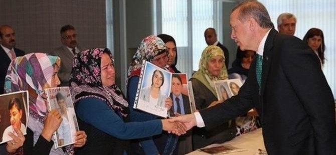 Erdoğan, Çocukları Dağa Götürülen Ailelerle Görüştü