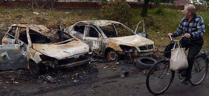 Ukrayna'nın Harabeye Dönen Kenti: Slavyansk