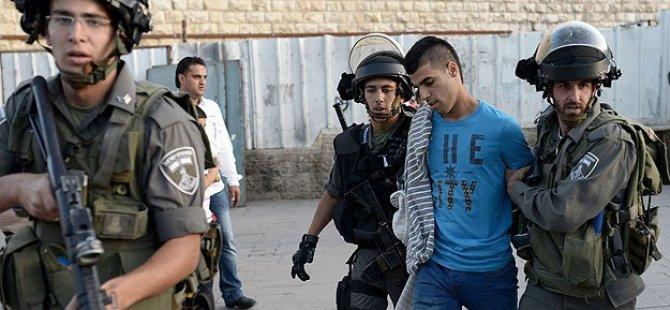 İşgal Devleti 12 Günde 540 Filistinliyi Gözaltına Aldı
