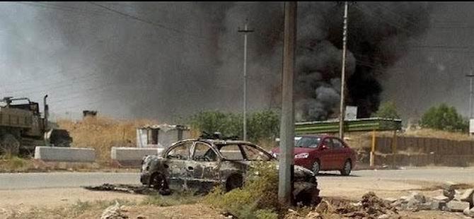 Irak Ordusu Tikrit ve Beyci'yi Havadan Bombalıyor