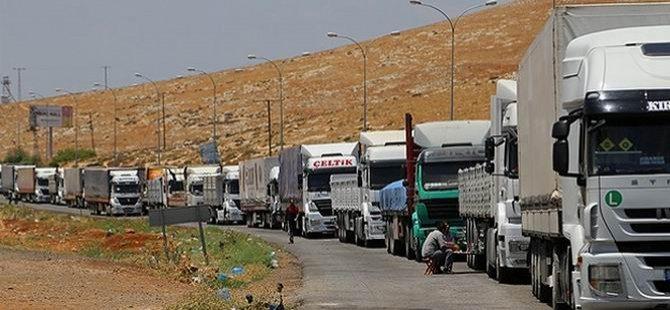 Irak'taki Mültecilere 20 Tır Yardım Malzemesi