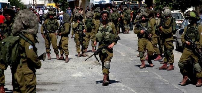 17 günde 585 Filistinli Gözaltına Alındı