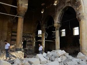 Halep'te Halk Korkudan  Namaza Gidemiyor
