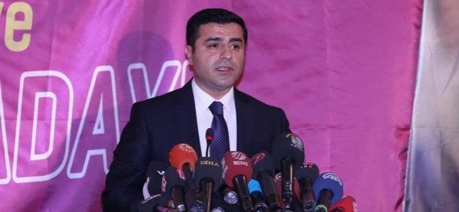 HDP'nin Cumhurbaşkanı Adayı Demirtaş