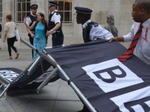 BBC'nin Siyonizm Yanlısı Haberlerine Protesto