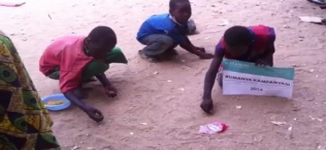 Lüks İftar Sofralarından Utandıracak Görüntü (VİDEO)