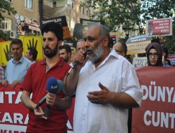 Mısır Cuntası Diyarbakır'da Protesto Edildi (FOTO)