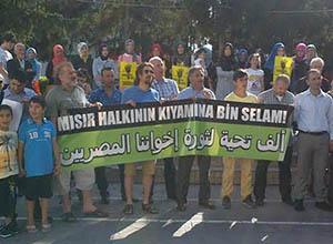 Sakarya'dan Darbeye Protesto; İhvan'a Selam
