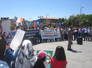 Sivas'ta Mısır Darbesini Protesto ve Madımak Çağrısı