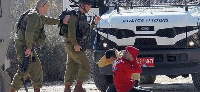 İşgal Güçleri 31 Filistinliyi Daha Gözaltına Aldı