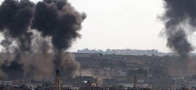 Katil İsrail Her 4 Buçuk Dakikada Bir Hedefi Vuruyor