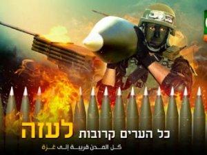 Hamas'tan Siyonistlere İbranice Şarkıyla Uyarı