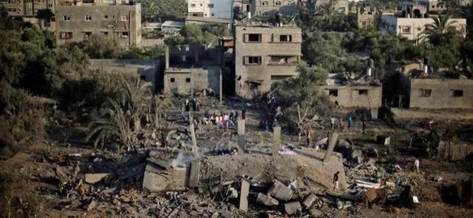 Gazze'de 1160 Hedef Vuruldu
