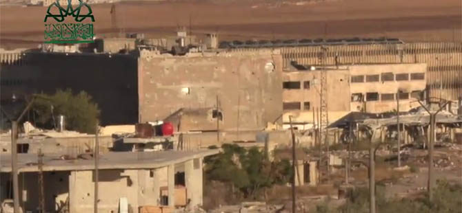 Muhalifler Halep Cezaevi Çevresinde 2 Bina Ele Geçirdi
