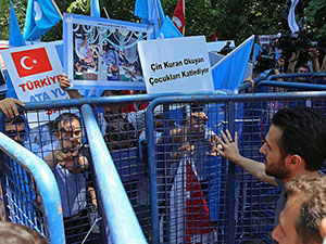 İstanbul'da Doğu Türkistan İçin Eylem