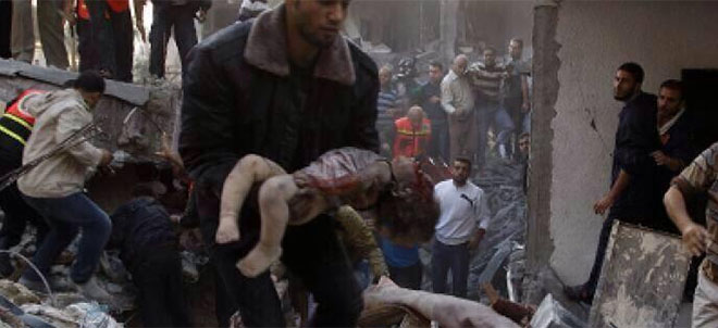 Gazze'de Günün Bilançosu Büyüyor: 10 Şehit (FOTO)