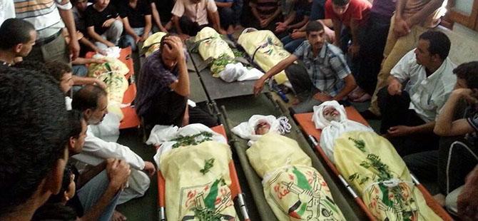 Gazze'de Şehit Sayısı 35 Oldu (FOTO)