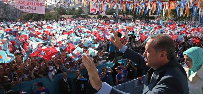 Erdoğan'dan İsrail'e Rest