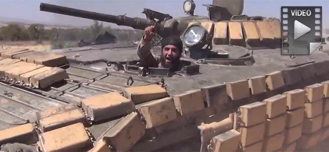 Rejim Bölgesi Muhaliflerin Kontrolüne Geçti (Video)