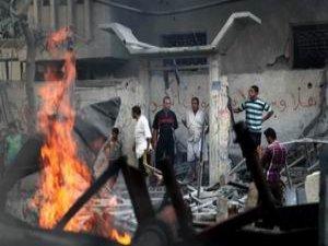 İşgal Uçakları Hükümet Binalarını Bombaladı (FOTO)