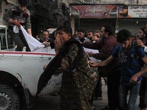 Esed, Varil Bombası İle Katletmeye Devam Ediyor: 20 Ölü