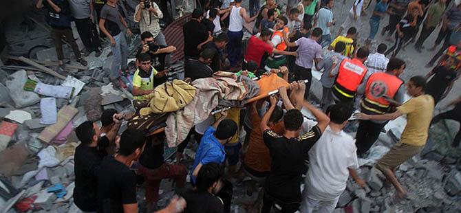 """İsrail Gazze'de Sivilleri Kasten Hedef Alıyor"""