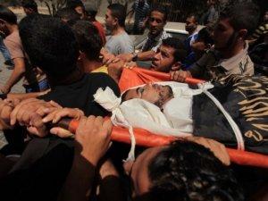 Gazze'de Şehit Olanların Sayısı 150'e Yükseldi (Foto)
