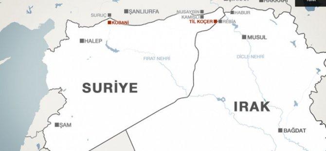 IŞİD Kobani'de Birçok Köyü Ele Geçirdi