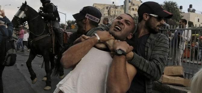 Mecsid-i Aksa'da Filistinliler'e Müdahale