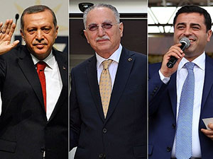 Erdoğan Oy Pusulasında İlk Sırada