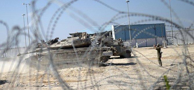 Kassam Tugayları Siyonist İsrail Tankını Vurdu