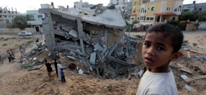 Gazze'de Şehitlerin Sayısı 175'e Yükseldi